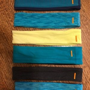 Six very lightly used Lucy headbands